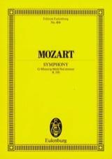 MOZART - Symphonie Nr. 40 g-moll KV 550 - Partitur - Partition - di-arezzo.fr