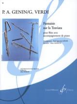 Fantaisie sur la Traviata Giuseppe Verdi Partition laflutedepan.com