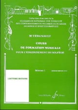 Michel Vergnault - Musical Training Course - Beginner 1 - Sheet Music - di-arezzo.com