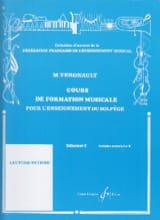 Michel Vergnault - Musical Training Course - Beginner 2 - Sheet Music - di-arezzo.com