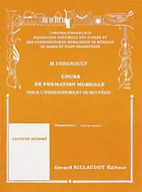 Michel Vergnault - Music Training Course - Preparatory 1 - Sheet Music - di-arezzo.com