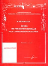 Michel Vergnault - Music Training Course - Preparatory 2 - Sheet Music - di-arezzo.com