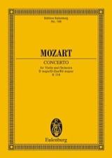 Violin-Konzert D-Dur (Kv 218) MOZART Partition laflutedepan.com