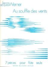 Au souffle des vents Jean-Jacques Werner Partition laflutedepan.com