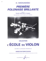 WIENIAWSKI - First brilliant Polish op. 4 - Sheet Music - di-arezzo.co.uk