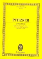 Hans Pfitzner - Violoncello-Konzert a-Moll, op. posth. (1888) a-Moll - Partition - di-arezzo.fr