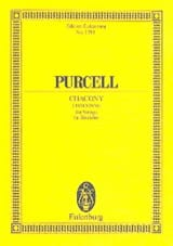 Henry Purcell - Chacony - Sheet Music - di-arezzo.co.uk