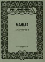 Gustav Mahler - Symphonie Nr. 1 D-Dur - Partitur - Partition - di-arezzo.fr
