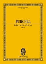 Dido and Aeneas - Henry Purcell - Partition - laflutedepan.com