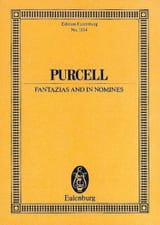Fantazias and In Nomines - Henry Purcell - laflutedepan.com