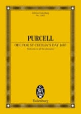 Henry Purcell - Ode zum Cäcilia-Tag 1683 - Sheet Music - di-arezzo.co.uk