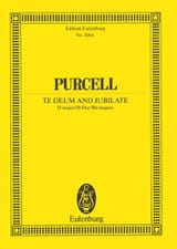 Henry Purcell - Te Deum and Jubilate - Sheet Music - di-arezzo.co.uk