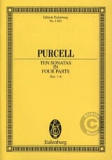 Henry Purcell - Sonates A 4 Voix, N° 1 A 6 - Partition - di-arezzo.fr