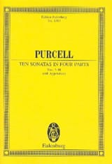 Henry Purcell - Sonatas in 4 parts, Nr. 7-10 - Partition - di-arezzo.fr