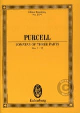 Henry Purcell - Sonates A Trois Voix, N° 7 A 12 - Partition - di-arezzo.fr