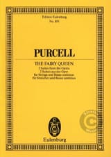 The Fairy Queen, Suites - Henry Purcell - Partition - laflutedepan.com