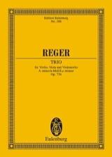 Max Reger - Streich-Trio a-Moll, op. 77b a-Moll - Partition - di-arezzo.fr
