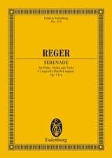 Max Reger - Trio G-Dur, op. 141a G-Dur - Partition - di-arezzo.fr