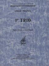Trio op. 1 n° 1 -Parties César Franck Partition laflutedepan.com