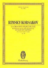 Nicolaï Rimsky-Korsakov - The Great Russian Passover, Ouverture - Partitur - Sheet Music - di-arezzo.co.uk
