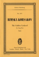Nicolaï Rimsky-Korsakov - The Golden Cockerel Suite - Sheet Music - di-arezzo.co.uk