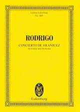 Concierto de Aranjuez - Joaquín Rodrigo - Partition - laflutedepan.com