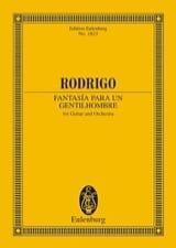Fantasía para un Gentilhombre - Conducteur RODRIGO laflutedepan