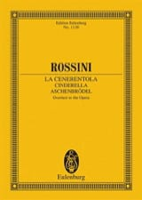 Gioacchino Rossini - La Cenerentola, Ouverture (Cendrillon) - Conducteur - Partition - di-arezzo.fr