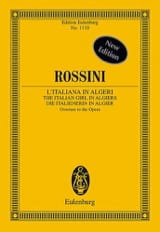 Gioacchino Rossini - Die Italienerin In Algier, Ouv. - Conducteur - Partition - di-arezzo.fr