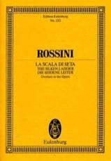 Gioacchino Rossini - Apertura de la escala de seda - Partitura - di-arezzo.es