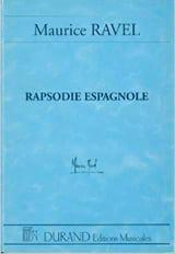 Rapsodie espagnole – Conducteur Maurice Ravel laflutedepan.com