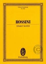 Stabat Mater - Partitur Gioacchino Rossini Partition laflutedepan.com