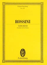 Gioacchino Rossini - Ouverture de Tancrede - Partition - di-arezzo.fr
