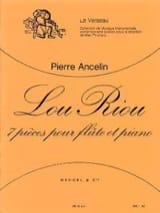 Lou Riou Pierre Ancelin Partition Flûte traversière - laflutedepan.com