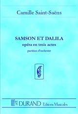 Camille Saint-Saëns - Samson et Dalila - Conducteur - Partition - di-arezzo.fr