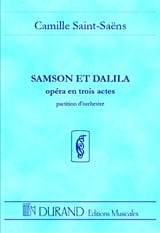 Camille Saint-Saëns - Samson and Dalila - Driver - Sheet Music - di-arezzo.co.uk
