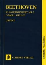 Klavierkonzert Nr. 3 -Partitur BEETHOVEN Partition laflutedepan.com