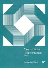 Tecum Principium BELLINI Partition Grand format - laflutedepan