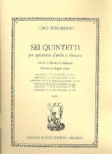 Quintetto n° 4 in re maggiore G. 448 –Parti - laflutedepan.com