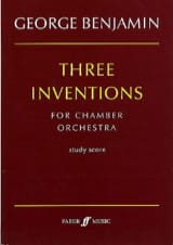 Three inventions for Chamber Orchestra George Benjamin laflutedepan