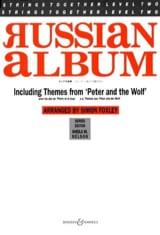- Russian Album - Musique De Chambre - Partition - di-arezzo.fr