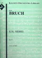 Max Bruch - Kol Nidrei op. 47 - Cello and orchestra - Sheet Music - di-arezzo.co.uk