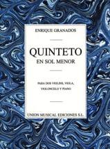 Quintette en Sol Mineur Enrique Granados Partition laflutedepan.com