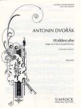 Antonin Dvorak - Walderuhe op. 68 n° 5 - Partition - di-arezzo.fr