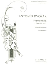 DVORAK - Umoristico op. 101 n ° 7 - Partitura - di-arezzo.it