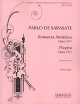 Romanza andaluza / Playera – Violine Gitarre - laflutedepan.com