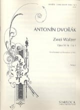 Antonin Dvorak - 2 Walzer op. 54 Nr. 1 - 4 - 2 Violine, Viola, Cello, Kontrabass ad lib. - Sheet Music - di-arezzo.co.uk