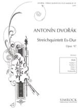 DVORAK - Streichquintett In Es-Dur Op. 97 - stimmen - Sheet Music - di-arezzo.co.uk