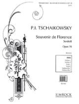 Souvenir de Florence op. 70 - Stimmen TCHAIKOVSKY laflutedepan.com