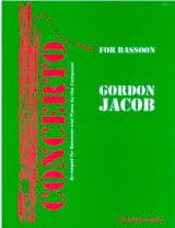 Gordon Jacob - Concerto for bassoon - Sheet Music - di-arezzo.com